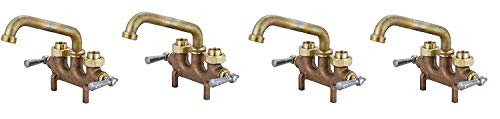 Central Brass 0465 2-Handle Laundry Faucet Pack of 4