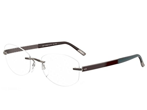 Silhouette Eyeglasses 4262 Chassis 7779 Titan Impressions Shape 4262-6056 ()