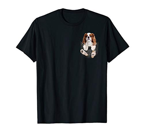 Dog in Your Pocket Cavalier King Charles Spaniels t shirt