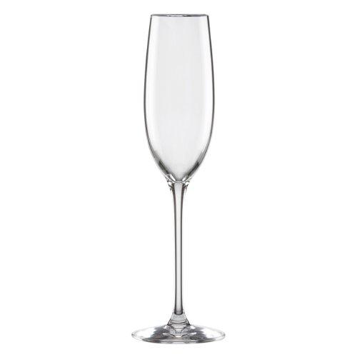 Lenox Solitaire Platinum Signature Crystal Flute (Fine Dinnerware Solitaire)