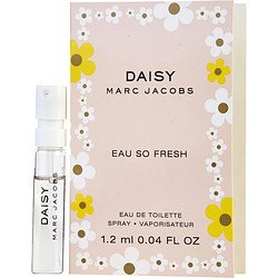 Women Edt Spray Vial (Marc Jacobs Daisy EDT Eau So Fresh Women Vial Spray 0.04 oz/1.2 Ml)