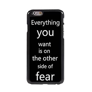 YULIN Aphorism Style Design Aluminum Hard Case for iPhone 6