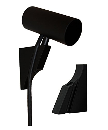 Oculus Rift CV1 Compatible Sensor Wall Mounts (Black, 4 Pack)