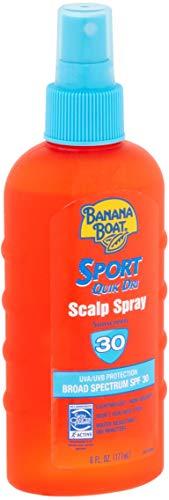 Banana Boat Sport Quik Dri SPF 30 Sunscreen Scalp Spray, 6 ()
