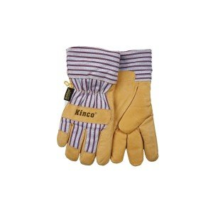 Kinko Cold Weather Pigskin Leather Work Gloves, X-Large