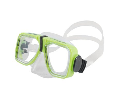 (Scuba Nevigator Dual Lens Optical Avail. Adult Dive Mask w/o Nose Purge Diving Snorkeling Swimming)