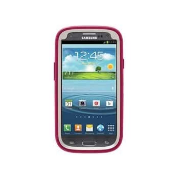 OtterBox Defender Series Case and Holster for Samsung Galaxy S III - Retail Packaging - Pink