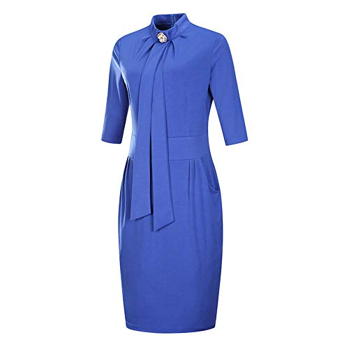 Landfox Cocktail Dress, Temperament Professional hind Skirts,Women's Wear