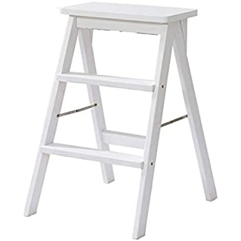 Amazon Com Step Stool Solid Wood Step Ladder Stool