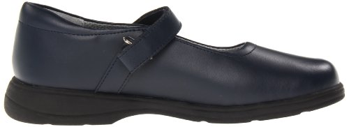 School Issue Mujeres Prodigy (adulto) Dark Navy Leather 8.5 M Ee. Uu.