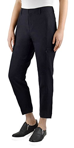 Travel Pants Women - Kirkland Signature Ladies' Ankle Length Travel Pant (6, Black)