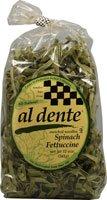 Al Dente Spinach Fettuccine, 12-Ounce Bag (Pack of 2)