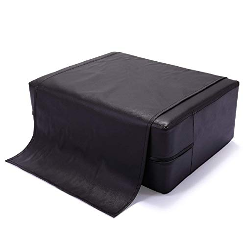 Kids Styling Chair - JAXPETY Black Barber Beauty Salon Spa Equipment Styling Chair Child Booster Seat Cushion