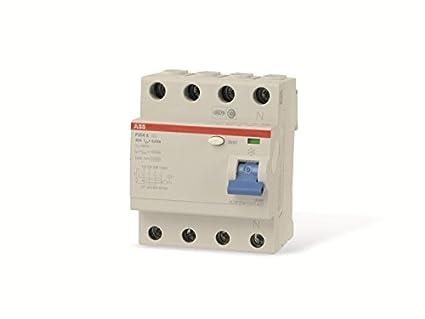 ABB Fi-Schutzschalter 2CSF204101R1400, 4-polig, F204A-40/0,03 ...