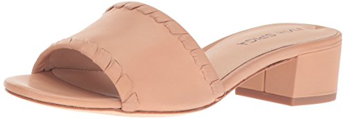 Via Spiga Women's Gwendolyn Slide Sandal, Nude Leather, 8.5 M US by Via Spiga