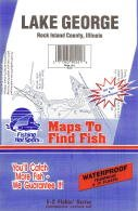 Lake George, Illinois Fishing Map (Illinois Lake Fishing Map Series, G221)