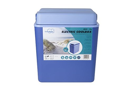 Connabride N1381 Thermoelectric Coolbox-12v-30 litres, Blue