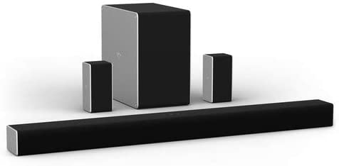 """VIZIO SB36512-F6 36"""" 5.1.2 Channel Dwelling Theater Encompass Sound Bar with Dolby Atmos Wi-fi Subwoofer,Bluetooth,Chromecast built-in,Works with Google Assistant,Wi-Fi, HDMI ARC,Digital Coaxial,Optical"""