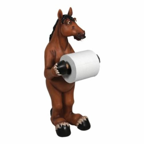 River's Edge Standing Horse Toilet Paper Holder
