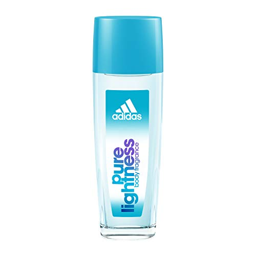 Adidas Body Fragrance Pure Lightness, For Women, 2.5 Fluid Ounce Spray Bottle, Body Spray for Everyday Use Floral Fragrance