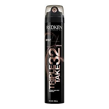 Triple Take 32 Highest Hold No Crunch Hairspray Redken Hair Spray Unisex 9 oz Pack of 2