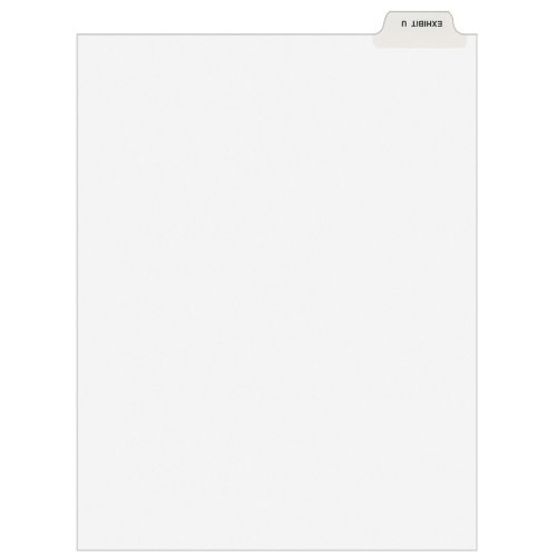 Hot Avery Individual Legal Dividers, Letter Size, Exhibit U (12394) supplier