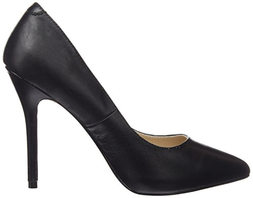 Tacones Mujer 20 Negro Leather Amuse Pleaser Negro Blk EwqBtnUx