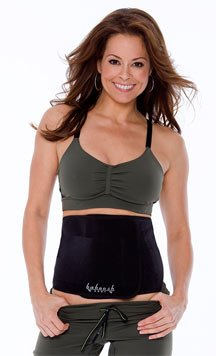 Baboosh Body Unisex Sports Wrap By Brooke Burke  Small Black