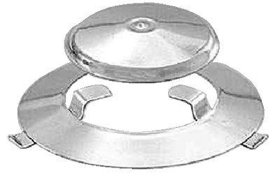 Magma Products, 10-665 Radiant Plate & Dome Assembly, Marine Kettle 2 Combination Stove & Gas Grill (Original Size), Replacement Part (Dome Gas Grill)