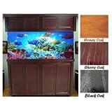 R&J Enterprises ARJ40115 Xtreme Series Oak Wood Aquarium Cabinet Stand, 48 by 18-Inch, Honey