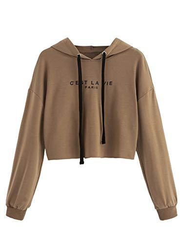 crop hooded sweatshirt - 5