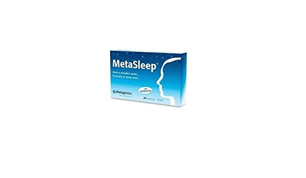 Amazon.com: Metasleep Integratore Alimentare 30 Compresse: Health & Personal Care