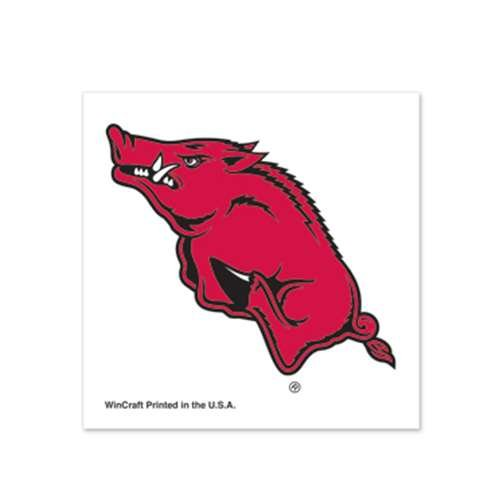 - Arkansas Razorbacks Temporary Tattoo - 4 Pack