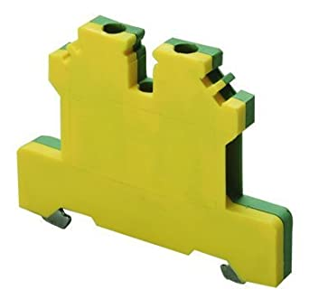 DIN Rail Terminal Blocks Gnd Block DIN 35mm (1 piece): Idc