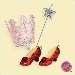 2006 Ornaments Mini - Hallmark Ornament the Magic of Glinda Wizard of Oz 2006 (Mini) (Boxed)