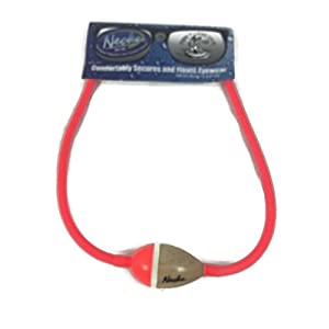 Neon Neckz Eyewear Sunglasses Retainer with Floater (Neon Red Red)