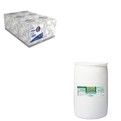 KITKIM21271SPG13008 - Value Kit - Simple Green Concentrated All-Purpose Cleaner/Degreaser (SPG13008) and KIMBERLY CLARK KLEENEX White Facial Tissue (KIM21271) by Simple Green