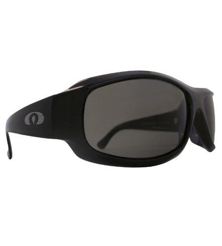 Modasten 9th Ave Gloss Black Italian Polarized Sunglasses, - Ave Sunglasses