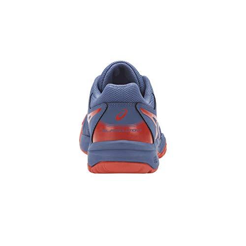 GS rouge Asics azur AW18 7 flash Tennis Resolution Shoes Gel Junior bleu qtvwqg