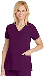 Grey's Anatomy Signature 2115 Women's V-Neck Solid S