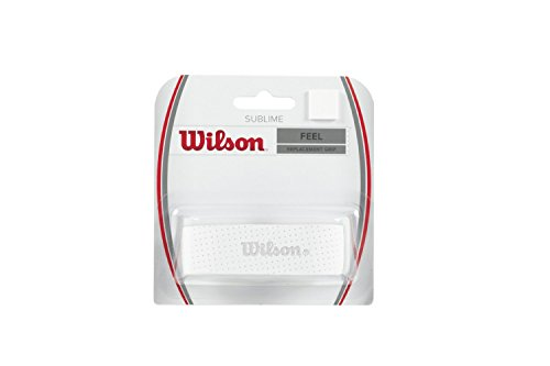 2 Pack - Wilson Sublime Replacement Grip (White)
