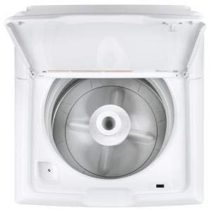 3.8 cu. ft. White Top Load Washing Machine by dealmor (Image #1)