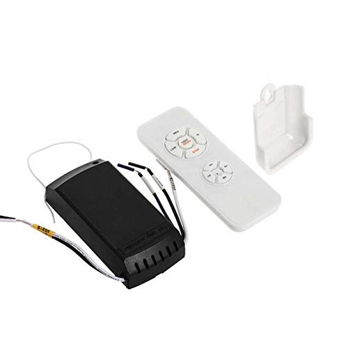 Calvas 50pcs Ceiling Fan Light Lamp Timing Speed Controller Switch Wireless Remote Control Kit Transmitter and receiver - (Color: 1receiver1remote)