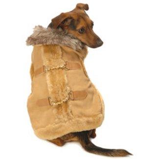 New York Dog Aspen Coat – Tan, Small, My Pet Supplies