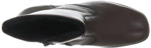 Semler Karolin K15666-013-041 - Botas clásicas de cuero para mujer Marrón