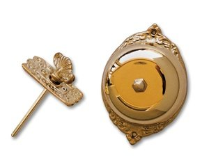 Image Unavailable. Image Not Available For. Color: Mechanical Twist Doorbell  Brass