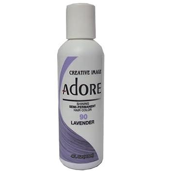 Amazon Com Adore Semi Permanent Haircolor  Ounce 118ml Beauty