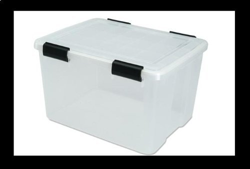IRIS Weathertight Storage Box, 46.6 Qt (Iris Plastic Mold)
