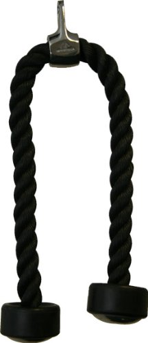 American Barbell Tricep Pressdown Rope with Rubber Ends