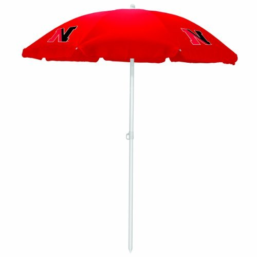 NCAA Northeastern Huskies Portable Sunshade Umbrella by Picnic Time by PICNIC TIME